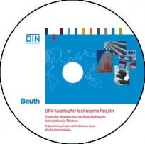 DIN-Katalog für technische Regeln, Einzelplatzversion, Einmalkauf. CD-ROM