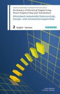 Wörterbuch industrielle Elektrotechnik, Energie- und Automatisierungstechnik. Band 2 Englisch-Deutsch