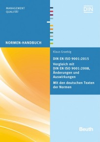 DIN EN ISO 9001:2015 - Vergleich mit DIN EN ISO 9001:2008