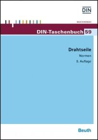 DIN-Taschenbuch 59. Drahtseile