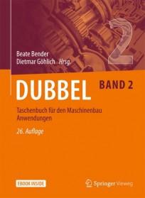 Dubbel Taschenbuch für den Maschinenbau. Band 2