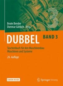 Dubbel Taschenbuch für den Maschinenbau. Band 3