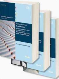 Normen-Handbuch Eurocode 1 - Einwirkungen. Paket: Band 1 bis Band 3