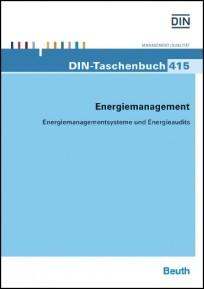 DIN-Taschenbuch 415. Energiemanagement
