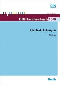 DIN-Taschenbuch 15/6. Stahlrohrleitungen - Fittings