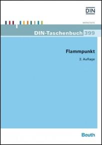 DIN-Taschenbuch 399. Flammpunkt