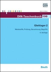 DIN-Taschenbuch 198. Gleitlager 2