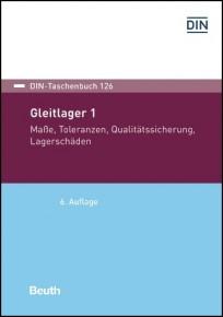 DIN-Taschenbuch 126. Gleitlager 1