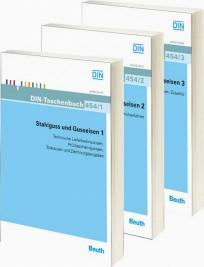 DIN-Taschenbuch 454. Stahlguss und Gusseisen Teile 1, 2 und 3