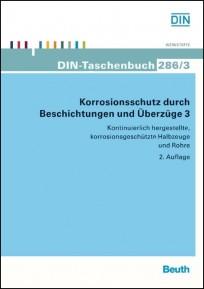 DIN-Taschenbuch 286/3. Korrosion und Korrosionsschutz