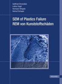 Rasterelektronenmikroskopie von Kunststoffschäden. SEM of Plastics Failure