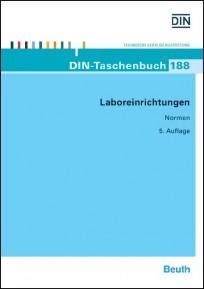 DIN-Taschenbuch 188. Laboreinrichtung