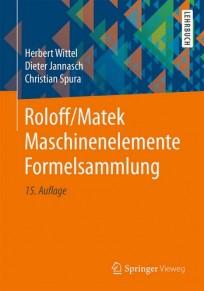Roloff/Matek Maschinenelemente Formelsammlung
