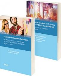 Qualität für Bildungsdienstleistungen + Qualitäts-Checkheft für Trainer. Paket