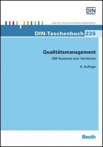 DIN-Taschenbuch 226. Qualitätsmanagement, QM-Systeme und Verfahren