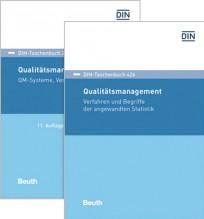DIN-Taschenbuch 226 + 426. Qualitätsmanagement Paket