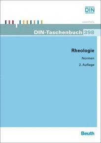 DIN-Taschenbuch 398. Rheologie