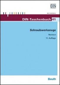DIN-Taschenbuch 41. Schraubwerkzeuge