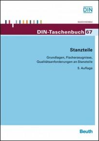 DIN-Taschenbuch 67. Stanzteile