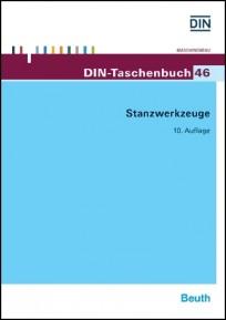 DIN-Taschenbuch 46. Stanzwerkzeuge