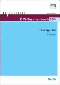 DIN-Taschenbuch 364. Tauchgeräte
