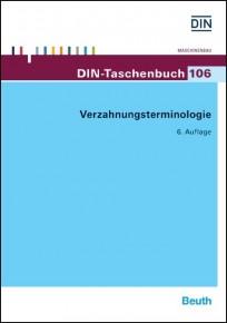 DIN-Taschnbuch 106. Verzahnungsterminologie