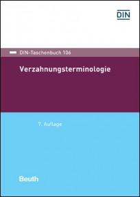 DIN-Taschenbuch 106. Verzahnungsterminologie