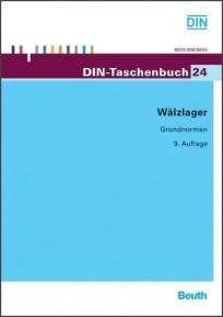 DIN-Taschenbuch 24. Wälzlager - Grundnormen