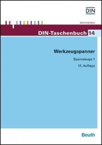 DIN-Taschenbuch 14. Werkzeugspanner