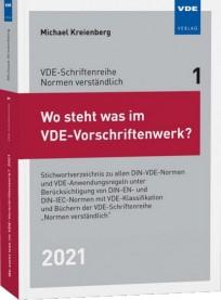 Wo steht was im VDE-Vorschriftenwerk? 2021