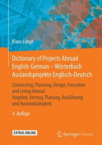 Dictionary of Projects Abroad English-German