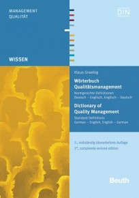 Wörterbuch Qualitätsmanagement. Dictionary of Quality Management