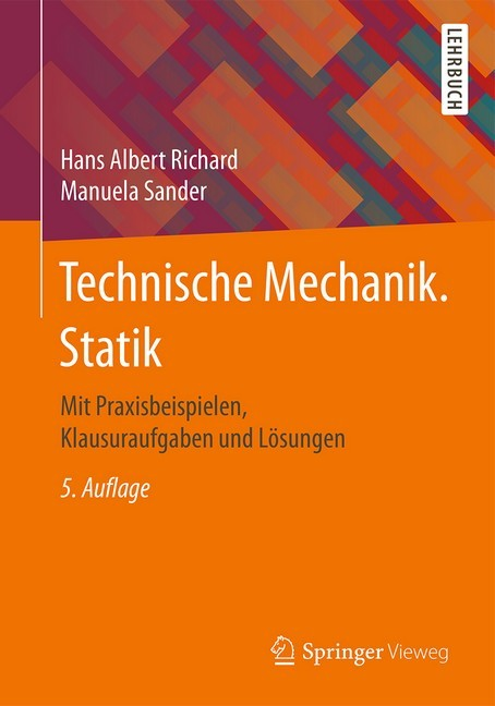 Technische mechanik statik richard sander b cher for Statik mechanik