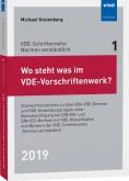 Wo steht was im VDE-Vorschriftenwerk? 2019