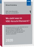 Wo steht was im VDE-Vorschriftenwerk? 2020
