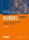 Dubbel Taschenbuch für den Maschinenbau. Band 1