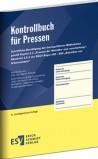 Kontrollbuch für Pressen
